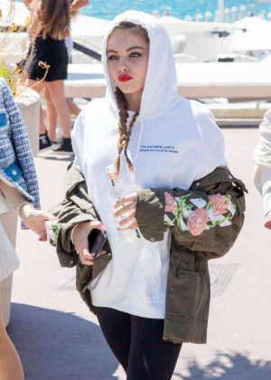 Thylane Blondeau at 70th Cannes Film Festival