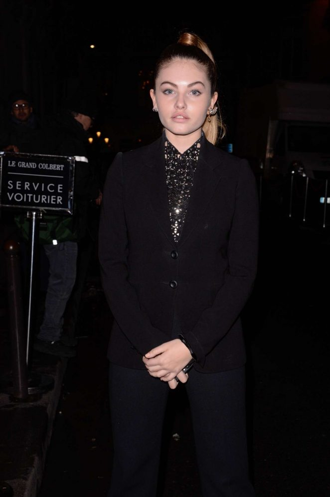 Thylane Blondeau at L'Oreal Paris Dinner Hosted By Julianne Moore in Paris