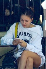 Thylane Blondeau at Urth Caffe in Beverly Hills