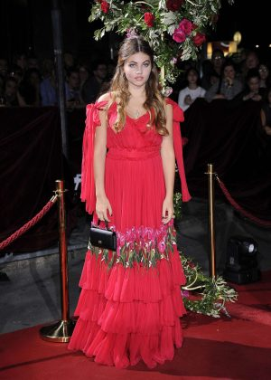 Thylane Blondeau - Dolce and Gabbana Show 2017 at Milan Fashion Week in Italy