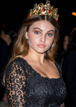 Thylane Blondeau - L'Oreal Gold Obsession Party 2016 in Paris