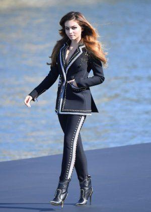 Thylane Blondeau - L'Oreal Runway Show in Paris