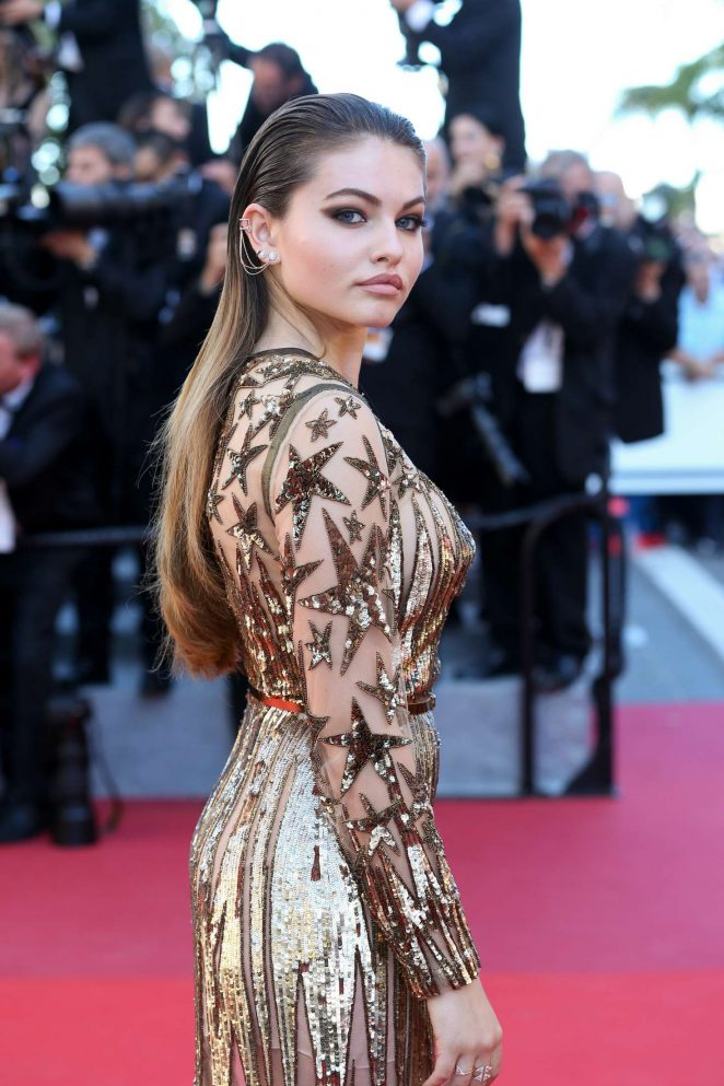 Thylane Blondeau: Okja Premiere at 70th annual Cannes Film Festival -05