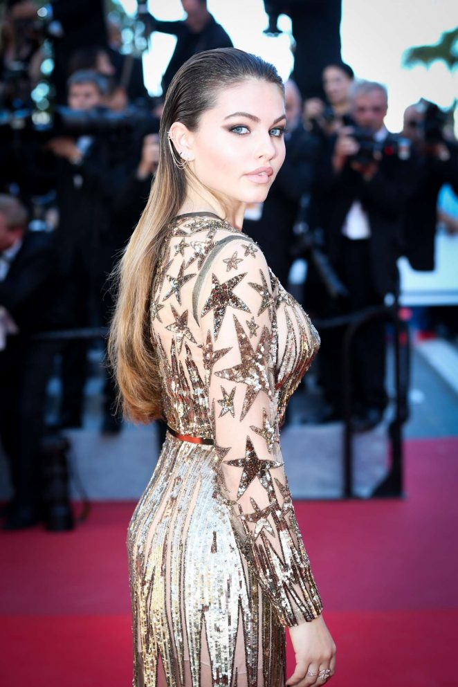 Thylane Blondeau: Okja Premiere at 70th annual Cannes Film Festival -12
