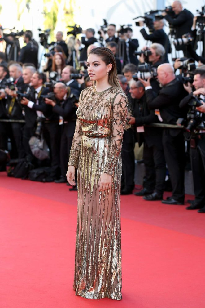 Thylane Blondeau: Okja Premiere at 70th annual Cannes Film Festival -14