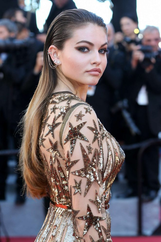 Thylane Blondeau - 'Okja' Premiere at 70th annual Cannes Film Festival