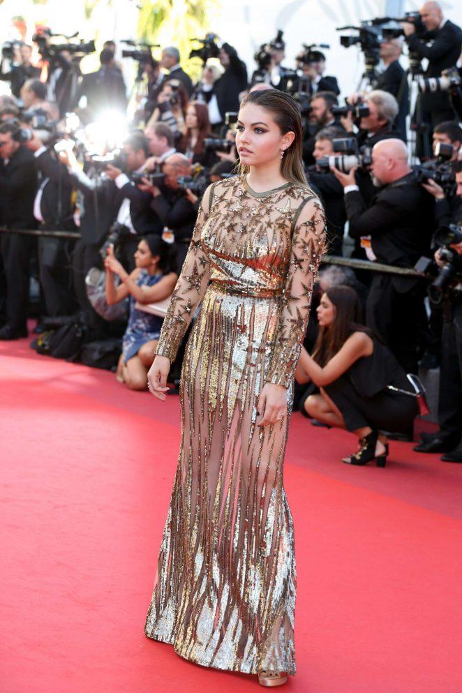 Thylane Blondeau: Okja Premiere at 70th annual Cannes Film Festival -17