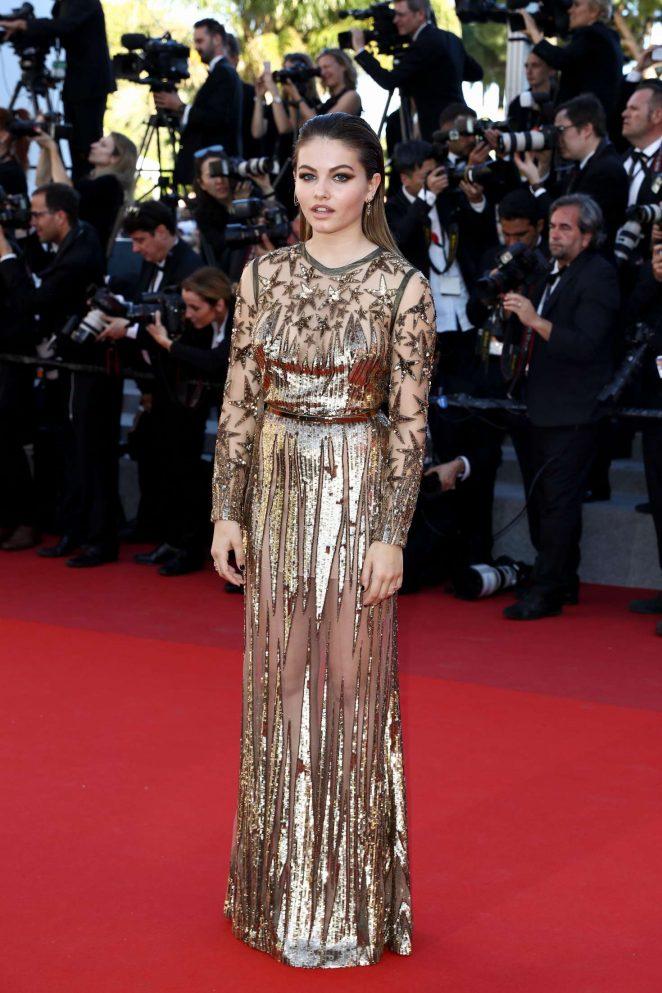 Thylane Blondeau 2017 : Thylane Blondeau: Okja Premiere at 70th annual Cannes Film Festival -22