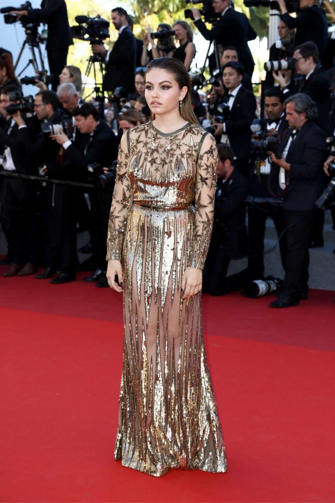 Thylane Blondeau 2017 : Thylane Blondeau: Okja Premiere at 70th annual Cannes Film Festival -28