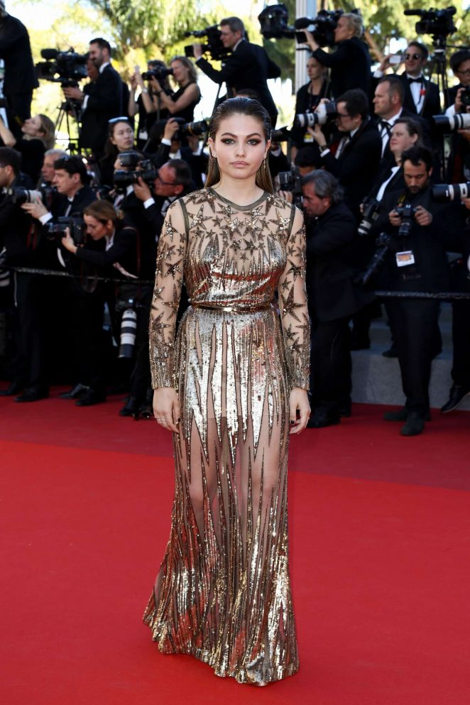 Thylane Blondeau: Okja Premiere at 70th annual Cannes Film Festival -30