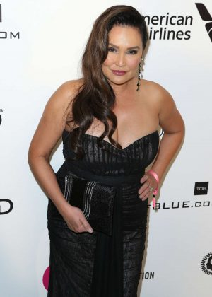 Tia Carrere - 2019 Elton John AIDS Foundation Academy Awards Viewing Party in LA