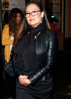Tia Carrere at 'Cats' Opening Night Performance in Hollywood