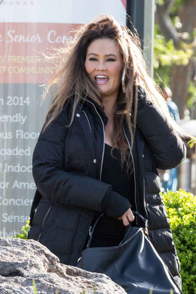 Tia Carrere out in Los Angeles