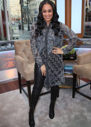 Tia Mowry - Attends Hollywood Today Live in Hollywood
