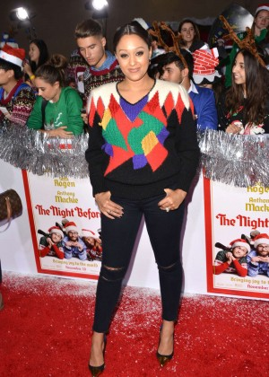 Tia Mowry - 'The Night Before' Premiere in LA