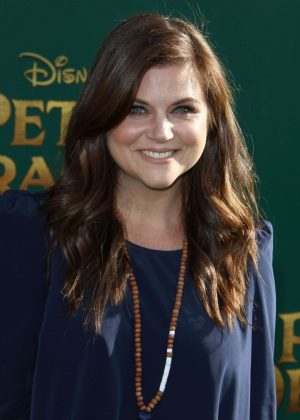 Tiffani Thiessen - 'Pete's Dragon' Premiere in Hollywood