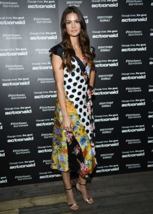 Tiffany Brouwer - Actionaid Survivors Runway Fashion Show in London
