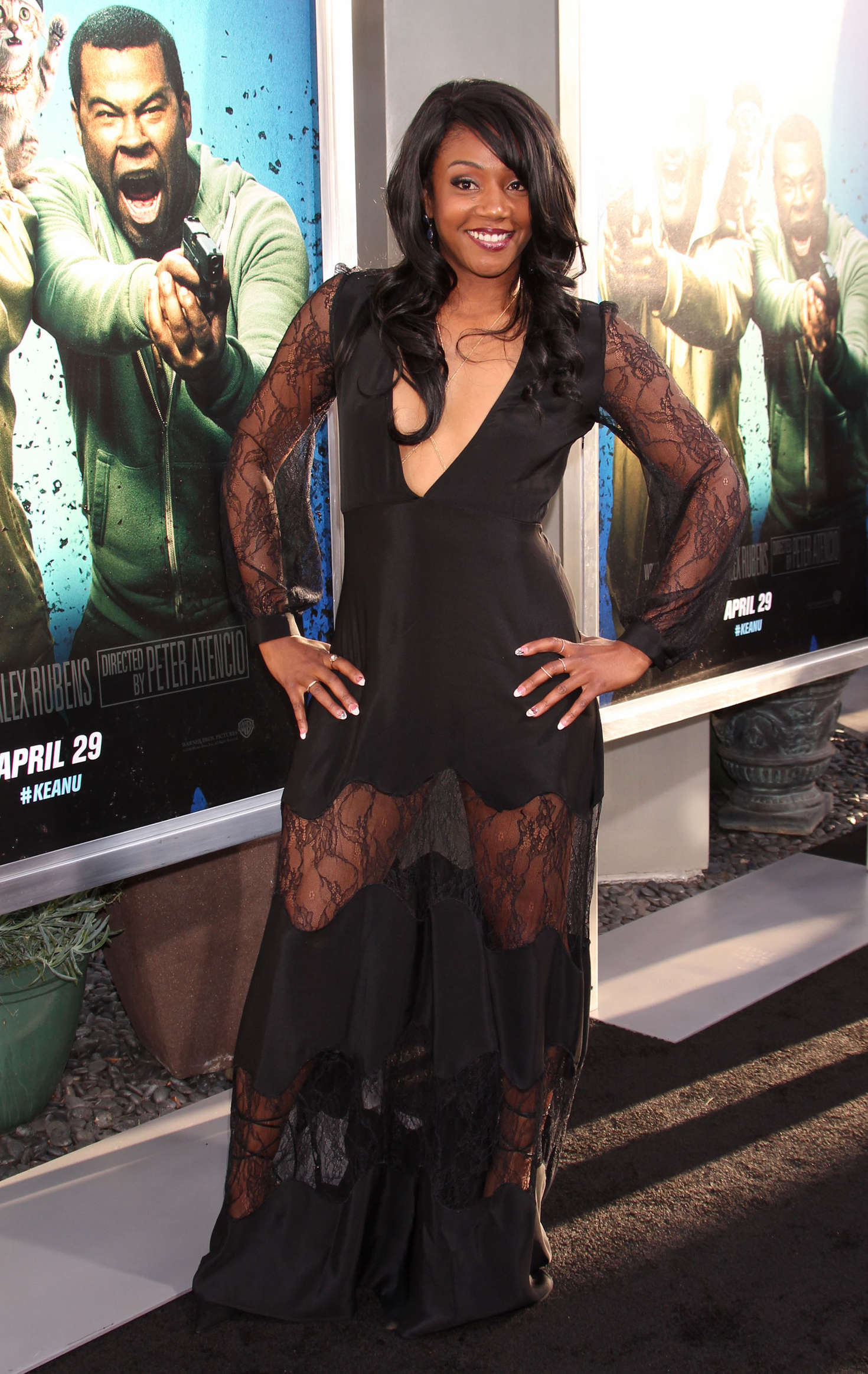 Tiffany Haddish Keanu Premiere 03