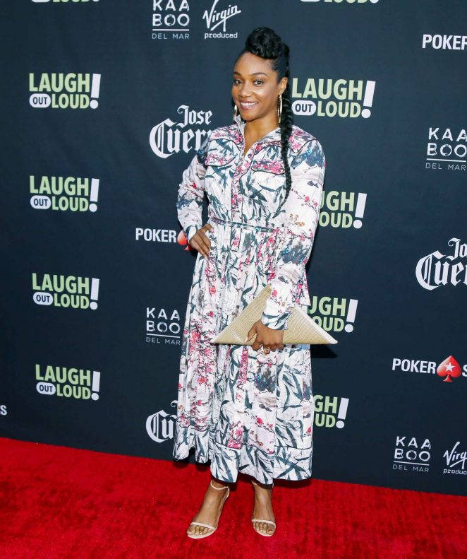 Tiffany Haddish: Laugh Out Loud Launch Party -04