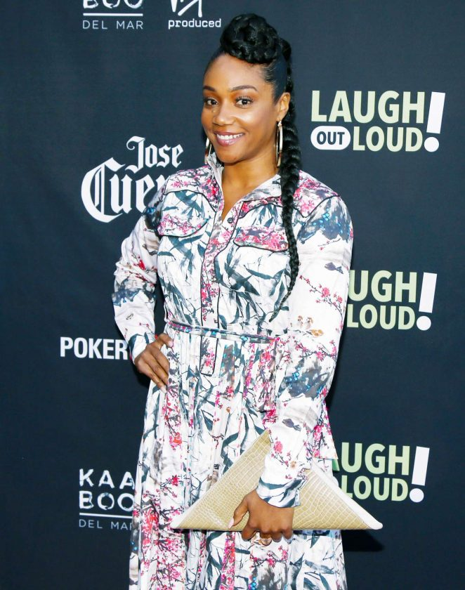 Tiffany Haddish: Laugh Out Loud Launch Party -07