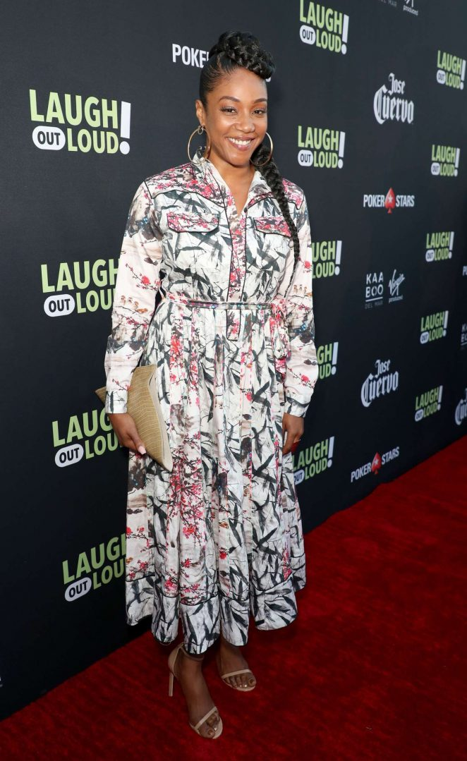 Tiffany Haddish: Laugh Out Loud Launch Party -13