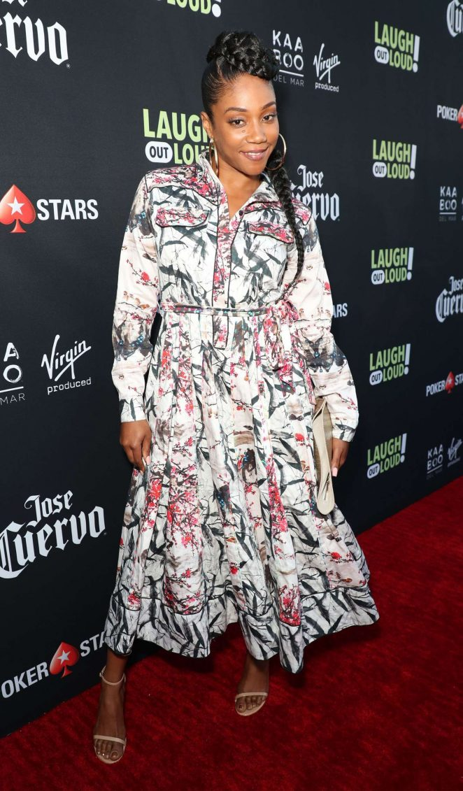 Tiffany Haddish: Laugh Out Loud Launch Party -15
