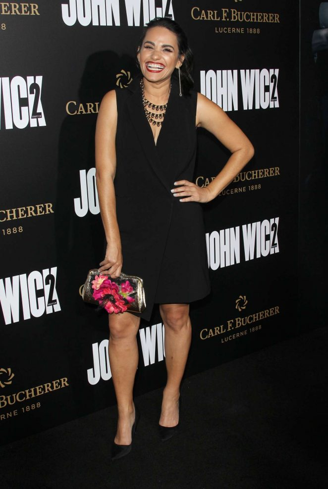 Tiffany Smith - 'John Wick Chapter 2' Premiere in Los Angeles