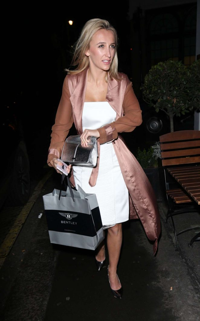 Tiffany Watson - Arrives at the El Pirata Tapas Bar in Mayfair