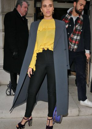 Tigerlily Taylor - Arrives at Mulberry Show 2018 in London