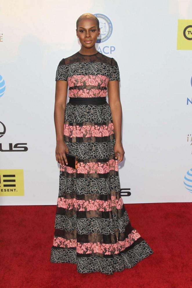 Tika Sumpter - 2016 NAACP Image Awards in Pasadena
