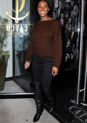 Tika Sumpter at Catch LA in West Hollywood