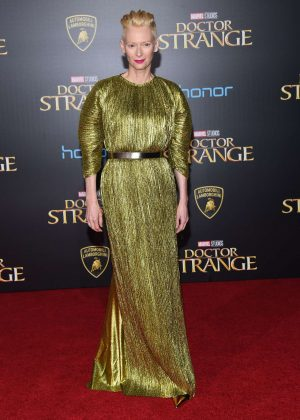 Tilda Swinton - 'Doctor Strange' Premiere in Hollywood