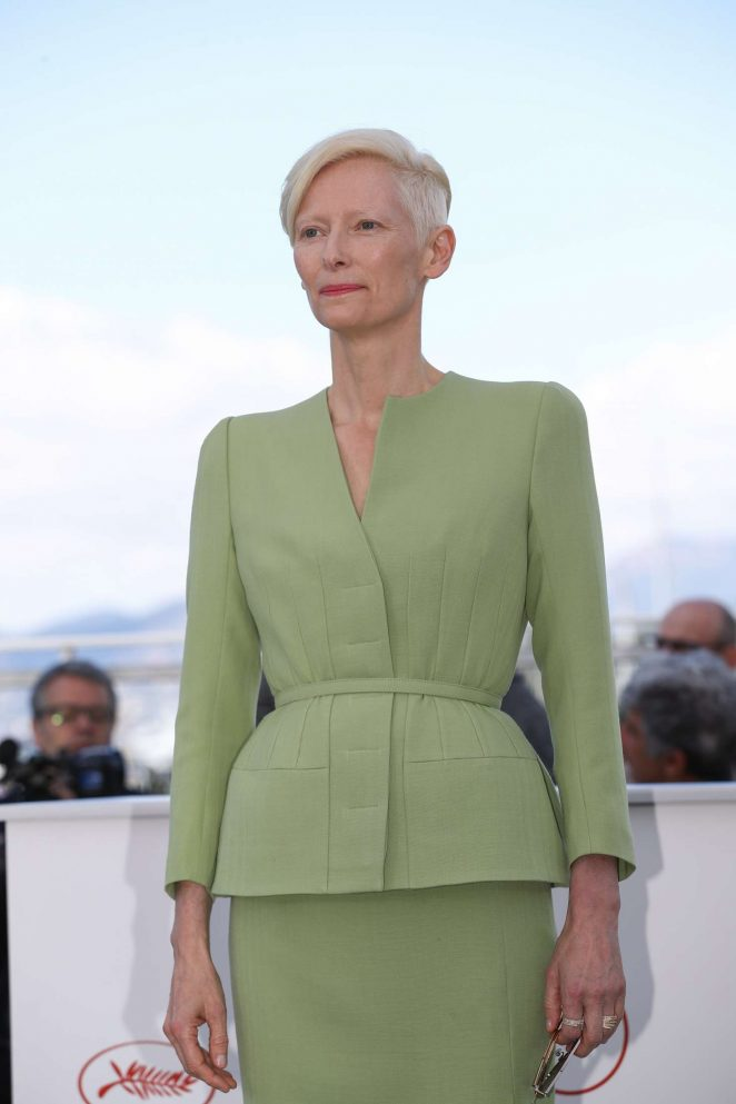 Tilda Swinton - 'Okja' Photocall at 70th Cannes Film Festival in Cannes