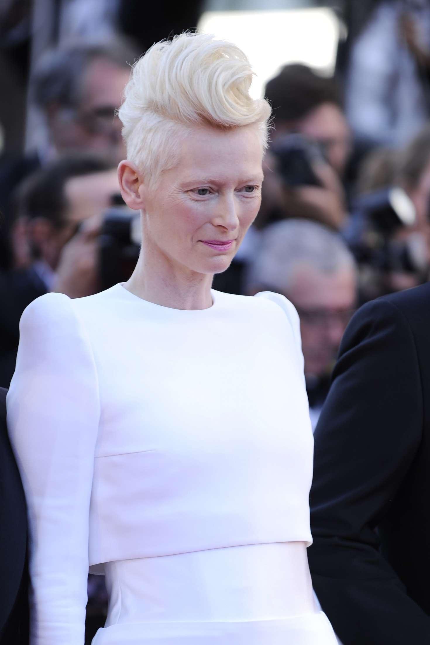 Tilda Swinton – 'Okja' Premiere at 70th annual Cannes Film