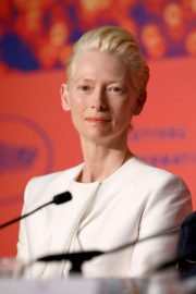 Tilda Swinton - 'The Dead Don't Die' Press Conference at 2019 Cannes Film Festival