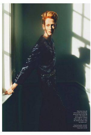Tilda Swinton - Vogue UK (February 2021)