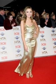 Tilly Keeper - National Television Awards 2020 in London