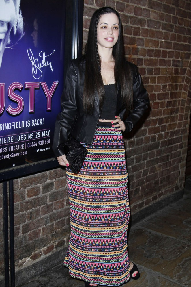 Tina Barrett: Dusty The Musical First Night Gala -01