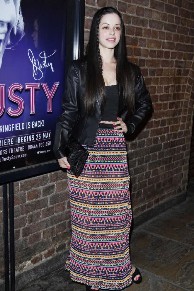 Tina Barrett: Dusty The Musical First Night Gala -01