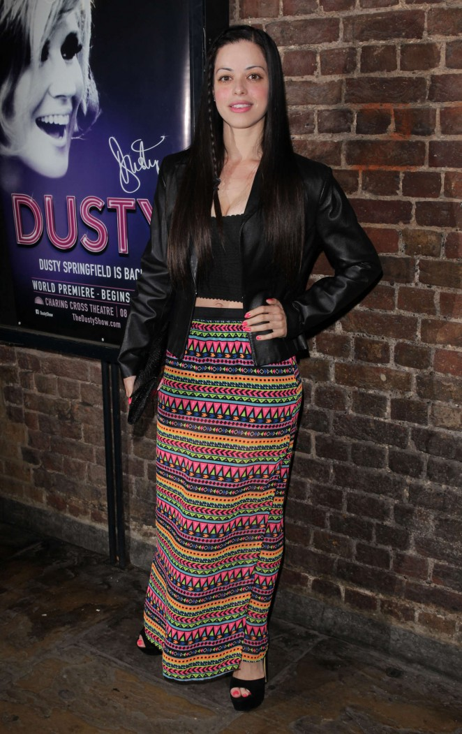 Tina Barrett: Dusty The Musical First Night Gala -08