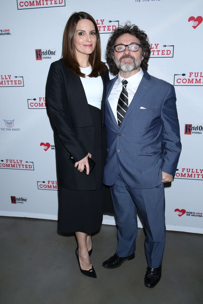 Tina Fey - 'Fully Committed' Broadway Opening Night in New York