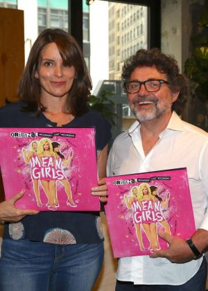 Tina Fey – Mean Girls Celebrates Release of the Broadway