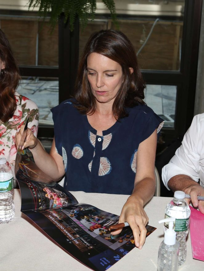 Tina Fey – Mean Girls Celebrates Release of the Broadway Cast Album on Vinyl in NY