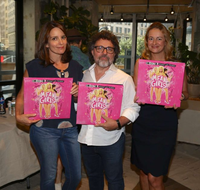 Tina Fey: Mean Girls Celebrates Release of the Broadway Cast Album