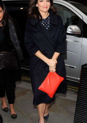 Tina Fey - Out in London