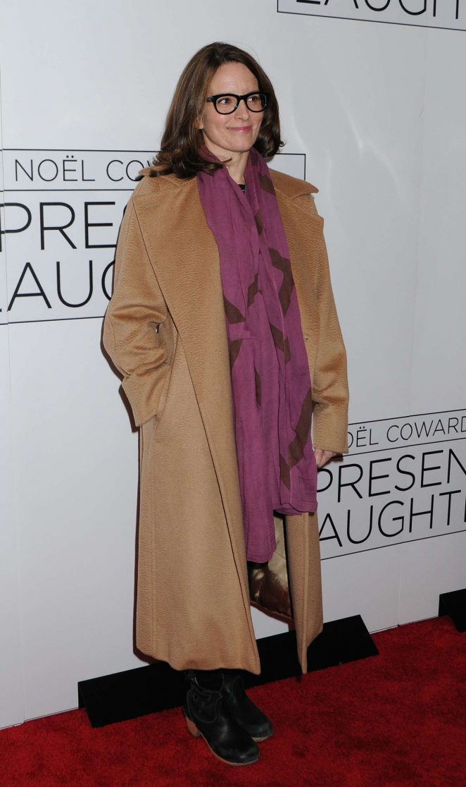 Tina Fey - 'Present Laughter' Opening Night on Broadway in NY