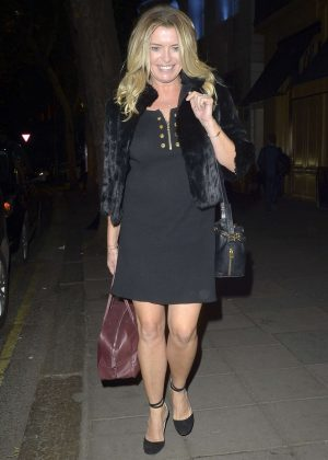 Tina Hobley - Arrives at The Best Heroes Awards in London