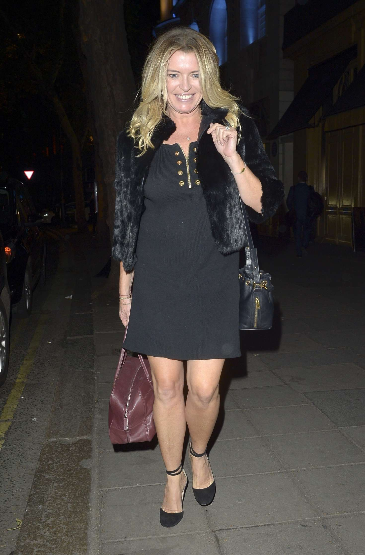 Tina Hobley – Arrives at The Best Heroes Awards in London
