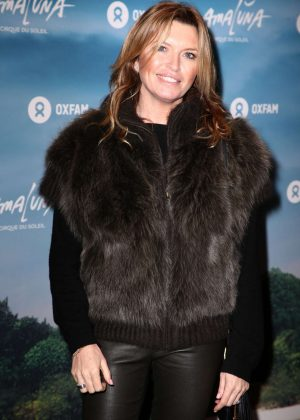 Tina Hobley - Cirque du Soleil 'Amaluna' Press Night in London