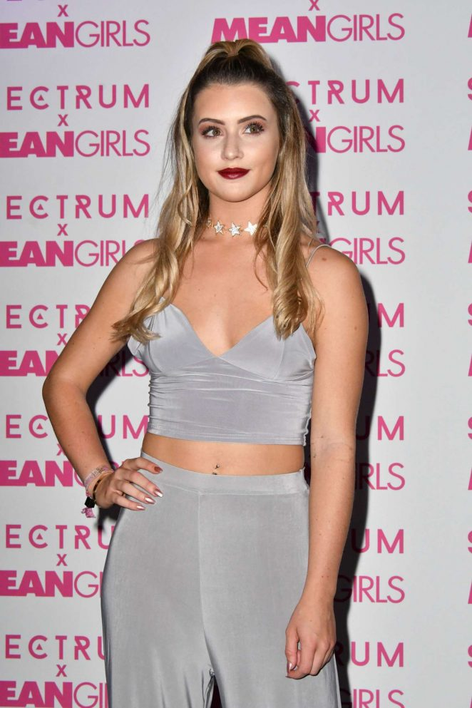 Tina Stinnes - Spectrum and Mean Girls Burn Book Launch Party in London